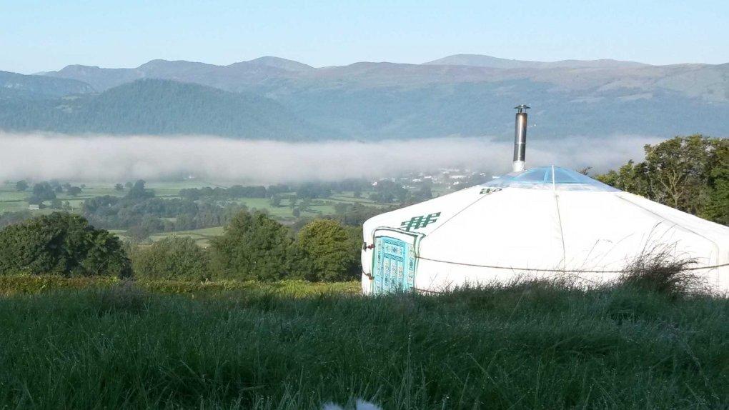 yurts north wales