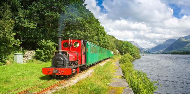 Llanberis Lake Railway North Narrow gauge Rail Transport