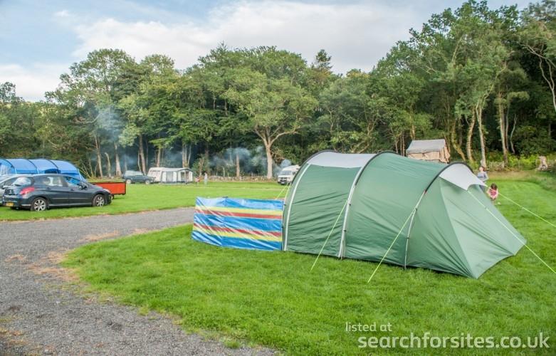 Cwmlanerch Caravan park