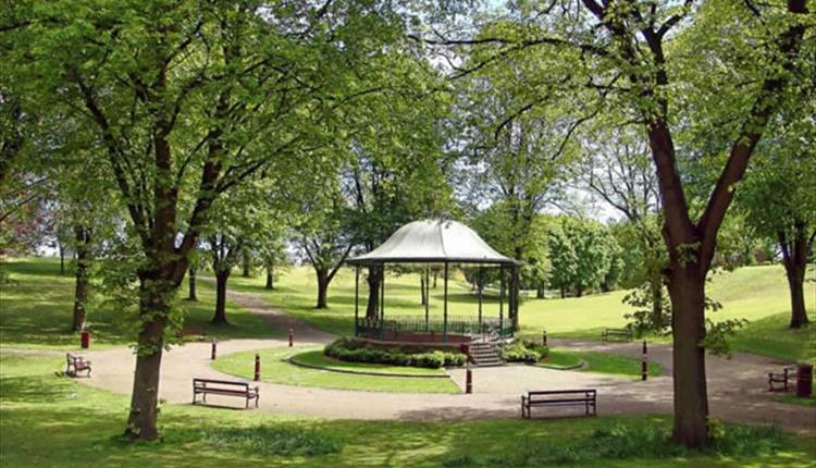 bellevue park- image by go north wales