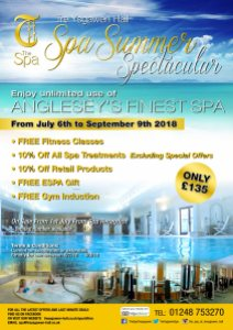 Spa Summer Spectacular Poster