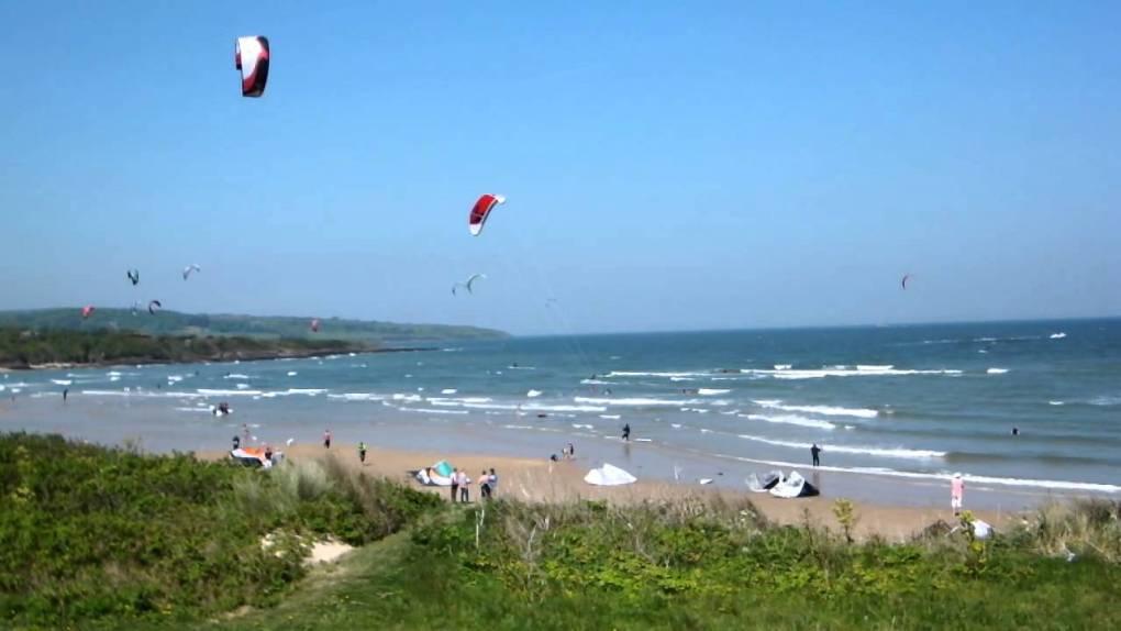 Lligwybeach kitesurfing
