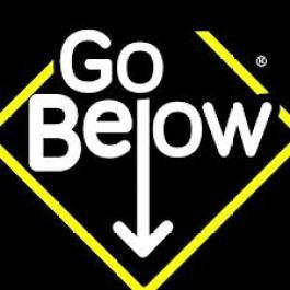 go below
