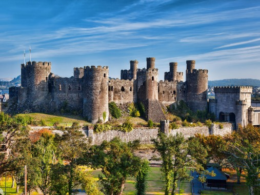time out- conwy castle