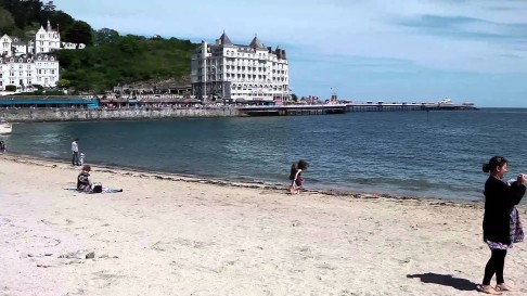 llandudno beach -youtube