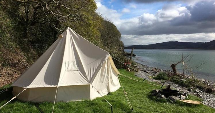Smugglers Cove Boatyard camping. Image by -Smugglers Cove Boatyard