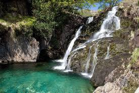 Watkin path waterfalls wild swimming Snowdonia