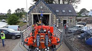 RNLI Abersoch Lifeboat station and Lifeboat. Image RNLI.org
