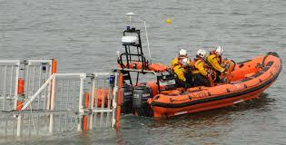 RNLI Beaumaris Lifeboat station and Lifeboat. Image RNLI.org