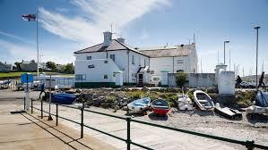 RNLI HolyheadLifeboat station and Lifeboat. Image RNLI.org