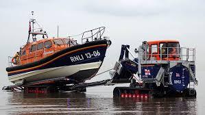 RNLI Pwylheli Lifeboat station and Lifeboat. Image RNLI.org