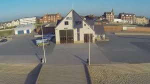 RNLI Rhyl Lifeboat station and Lifeboat. Image RNLI.org